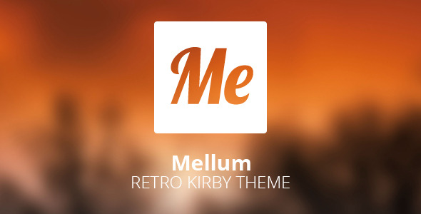 Mellum - Retro Blogging Theme for Kirby CMS