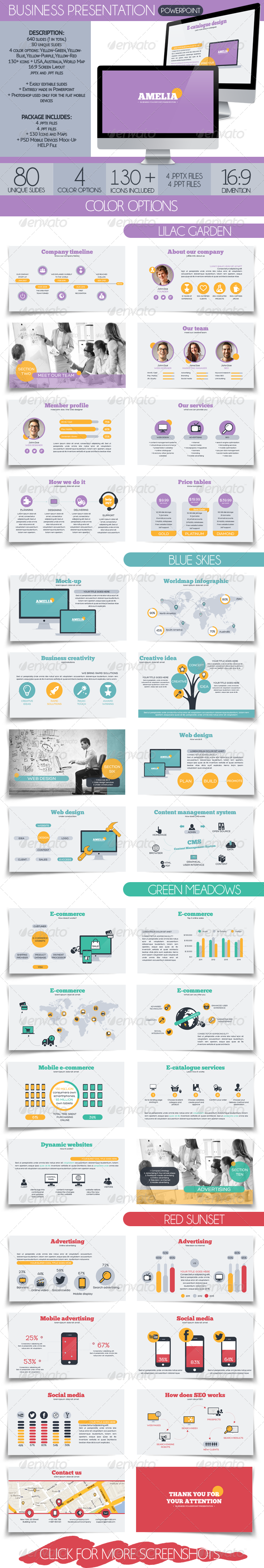 GraphicRiver Amelia Business Presentation 7079984