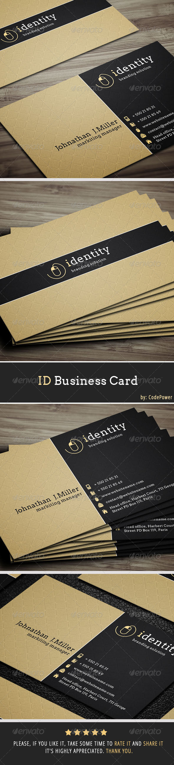 GraphicRiver ID Business Card 7080320