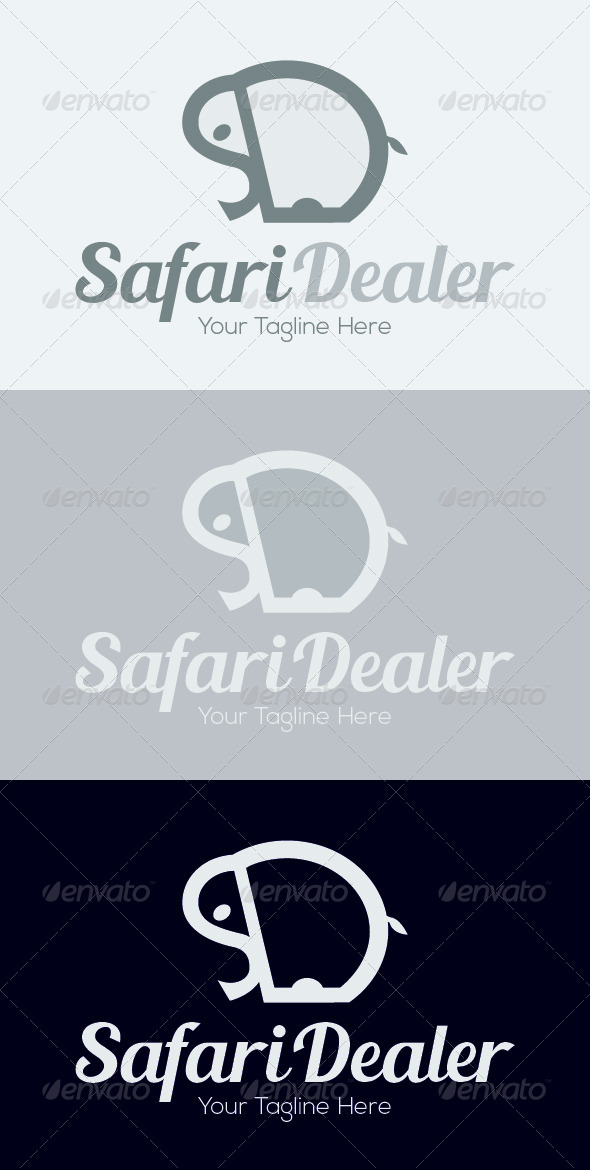 GraphicRiver Safari Dealer Logo Template 7080465