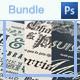 Bundle: Typography Wedding Invitations - GraphicRiver Item for Sale