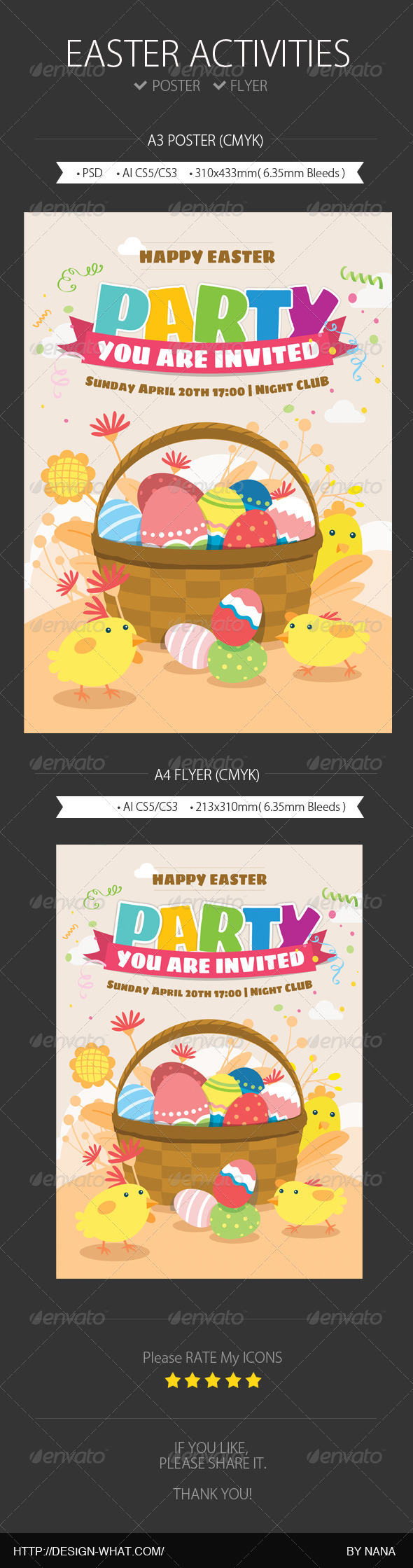 GraphicRiver Easter Activities 7081596