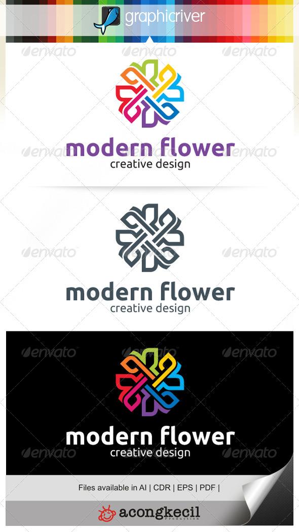 GraphicRiver Modern Flower V.2 7081811