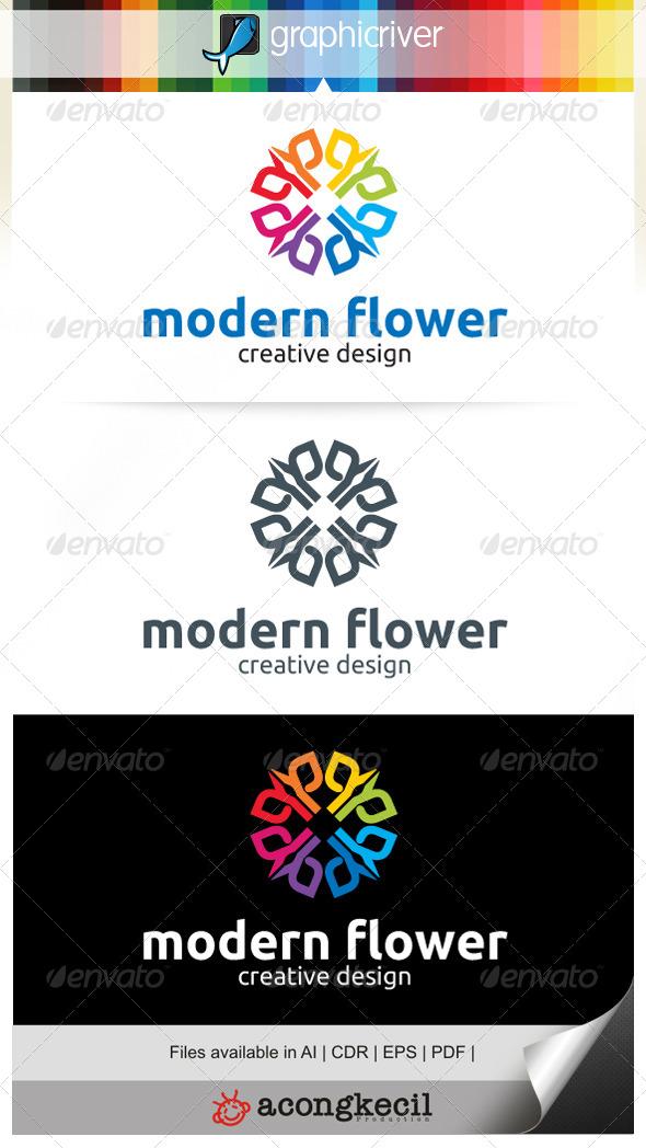 GraphicRiver Modern Flower V.4 7081839