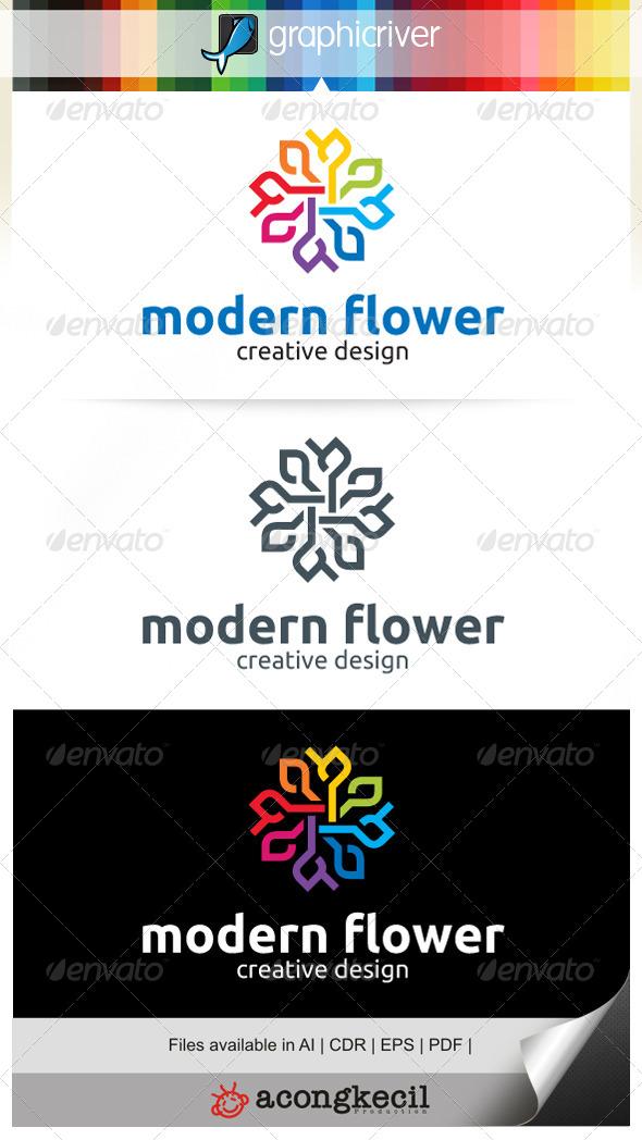 GraphicRiver Modern Flower V.5 7081845