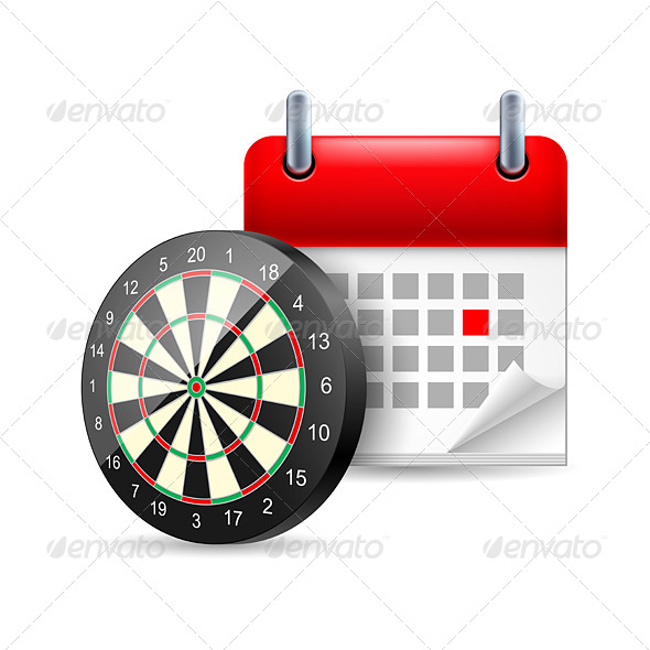 GraphicRiver Darts and Calendar 7081892