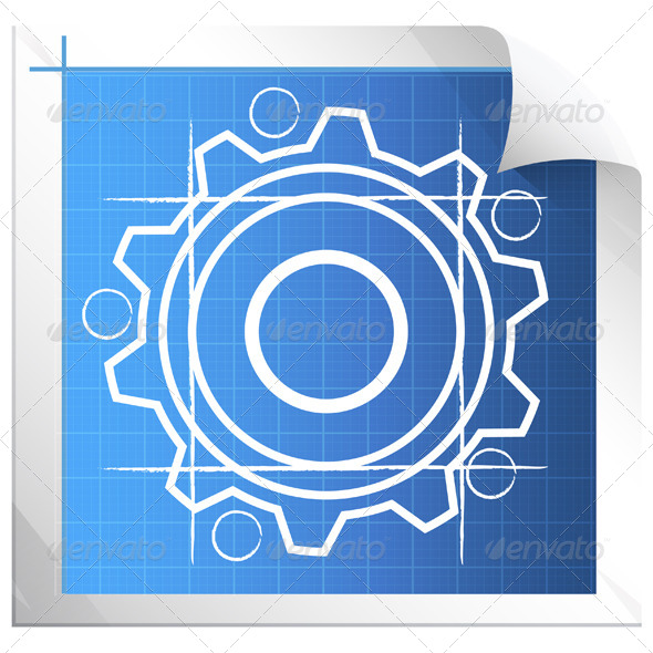 GraphicRiver Technical Drawing Illustration 7081975
