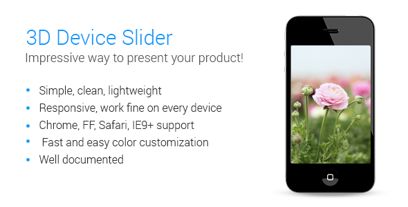 CodeCanyon 3D Device Slider 7082150
