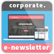 Corporate E-Newsletter Template - GraphicRiver Item for Sale