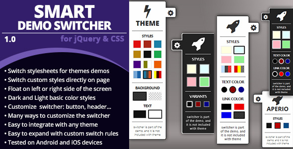 CodeCanyon Smart Demo Switcher 7082997