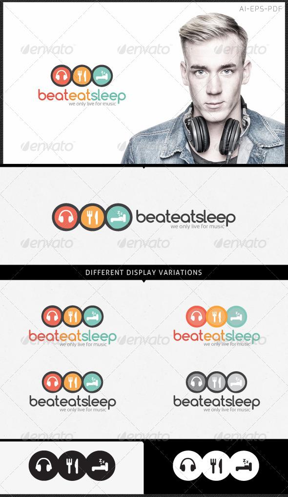 Music Logo - Beat Eat Sleep