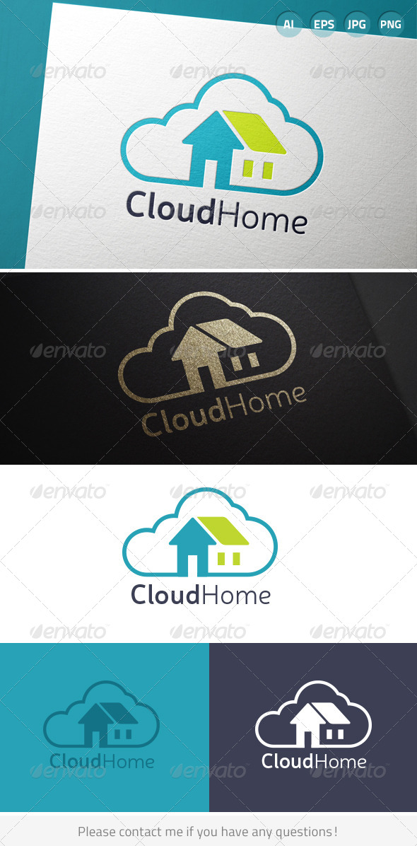 GraphicRiver Cloud Home 7034948