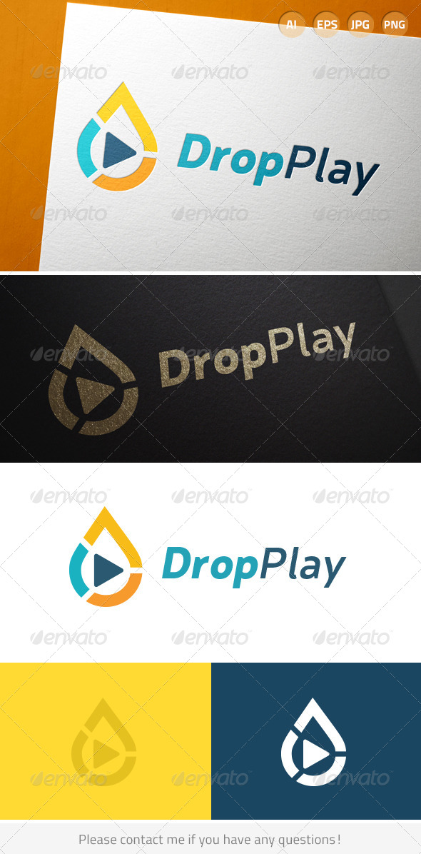 GraphicRiver Drop Play 7035637