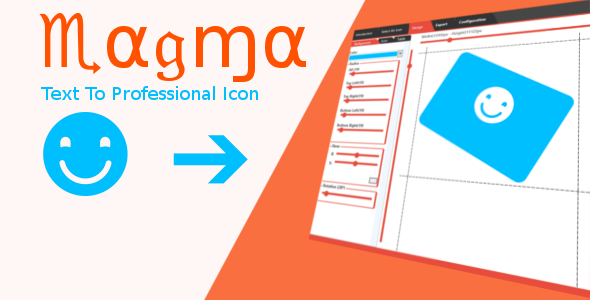 CodeCanyon Magma Text to Icon 7083962