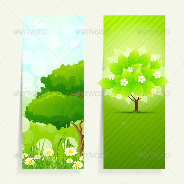 GraphicRiver Nature Banners 7086325