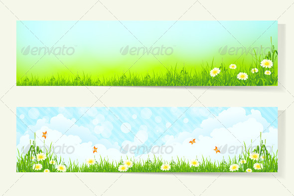 GraphicRiver Two Horizontal Banners 7086332