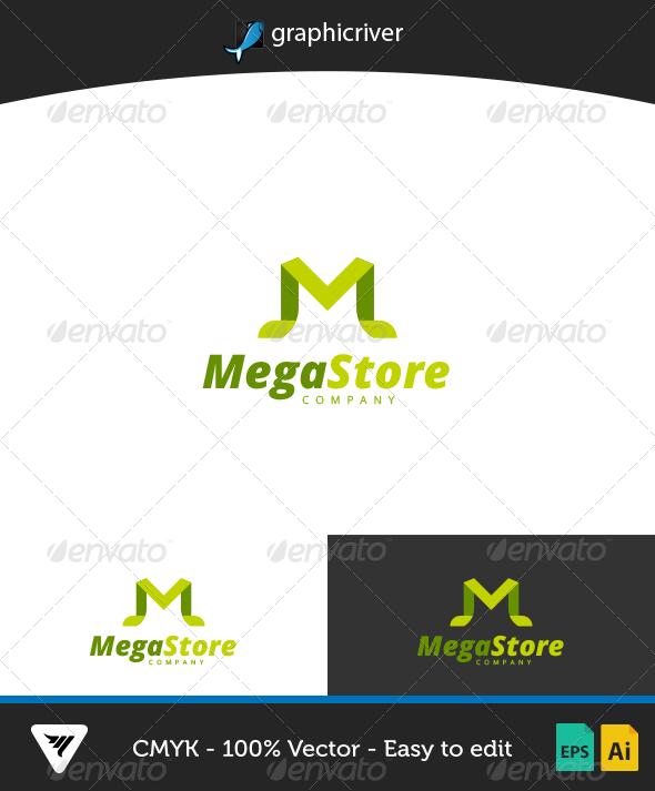 GraphicRiver MegaStore Logo 7086862