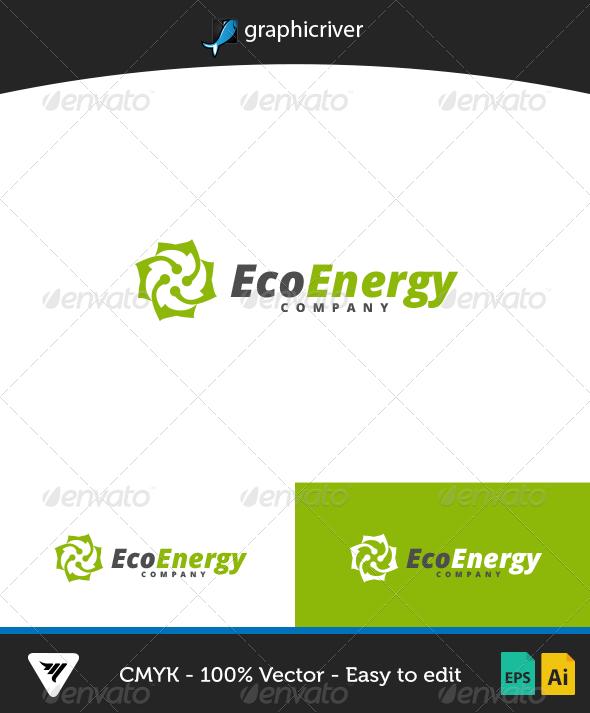 GraphicRiver EcoEnergy Logo 7086887