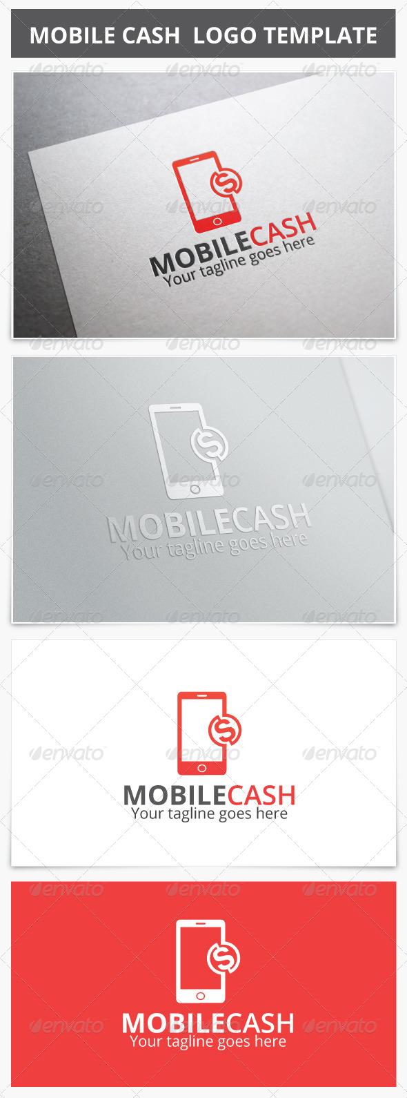 GraphicRiver Mobile Cash Logo 7087136