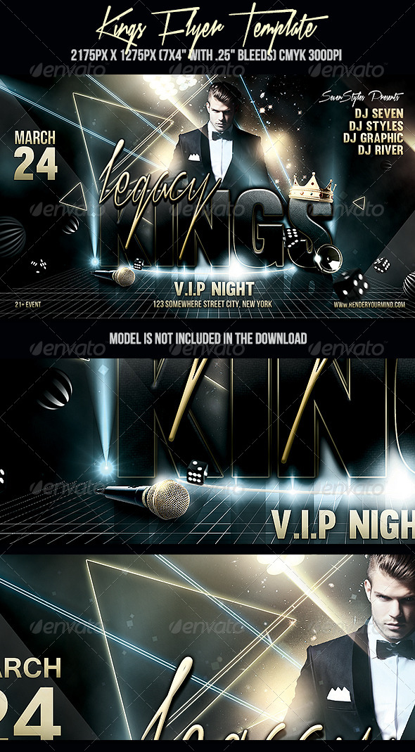 GraphicRiver Kings Flyer Template 7087313