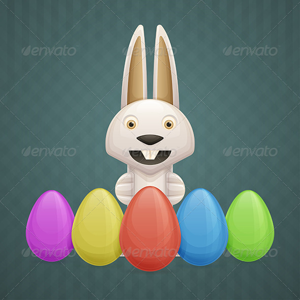 GraphicRiver Easter Bunny 7060999