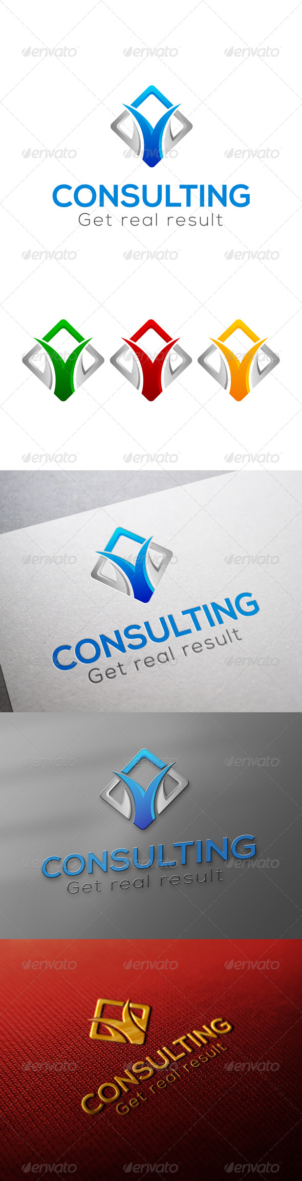 GraphicRiver Consulting Logo 7088198