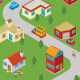 Isometric Neighborhood - GraphicRiver Item for Sale