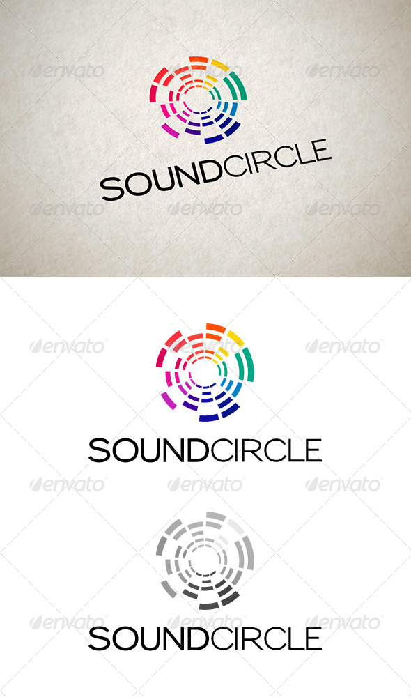 GraphicRiver Sound Circle Logo 7088944