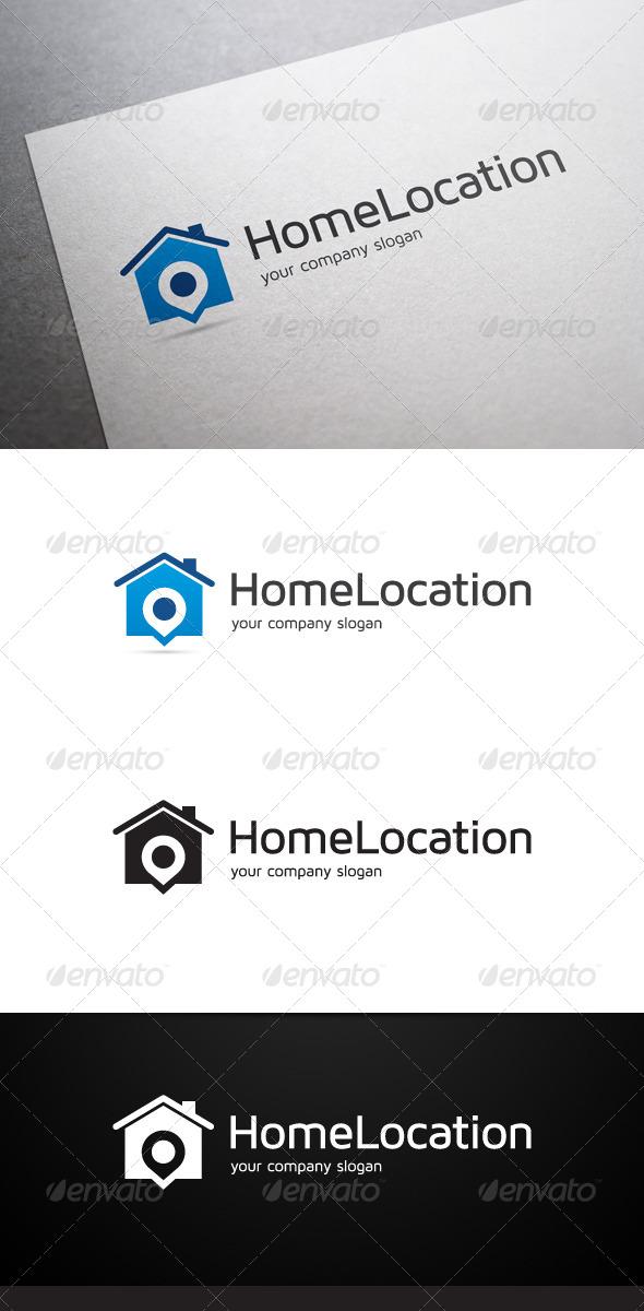 GraphicRiver Home Location Logo 7089746