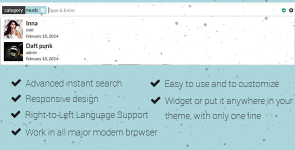 CodeCanyon Crab Advanced Instant Search 7089961