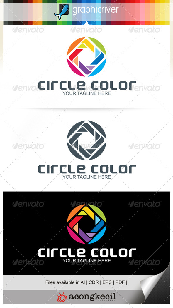 GraphicRiver Circle Color V.1 7090009