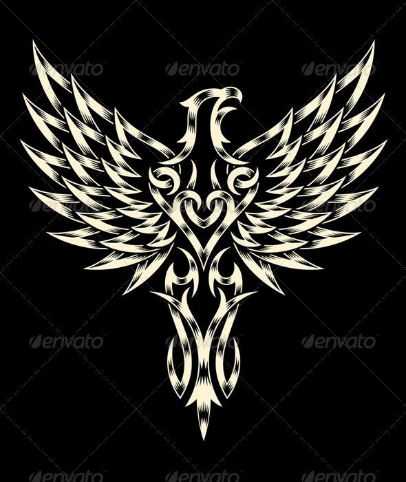 GraphicRiver Heraldry Eagle 7090867