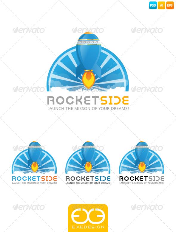 GraphicRiver Rocket Logo 7091245