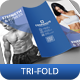 Fitness and Gym Tri-Fold Brochure