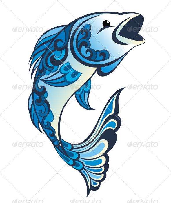 GraphicRiver Water Fish 7092738
