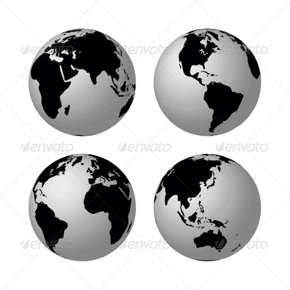 GraphicRiver Globes 7092737