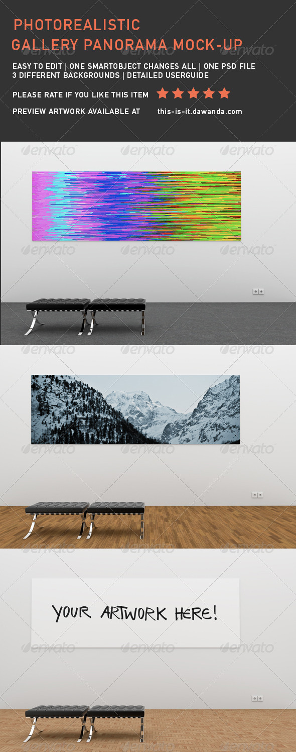 GraphicRiver Panorama Mock-Up 7093876