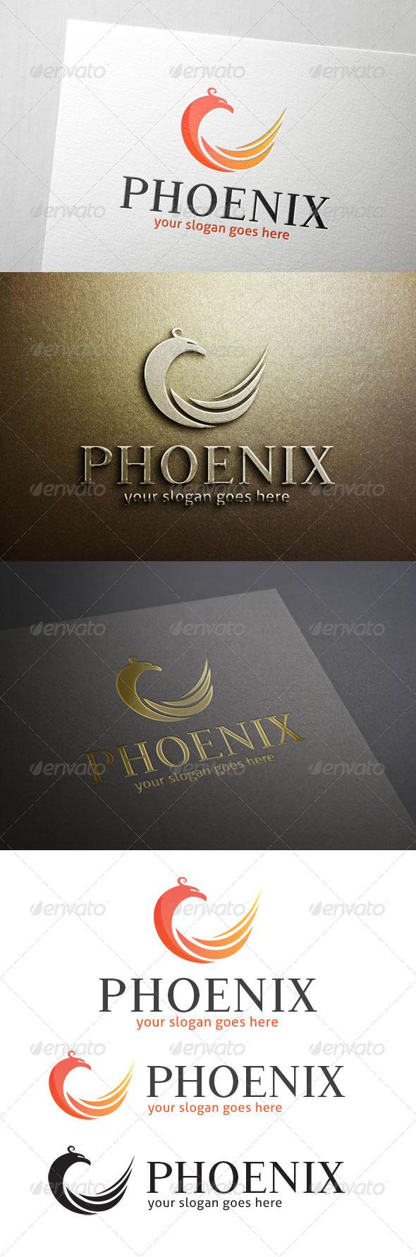 GraphicRiver Phoenix Logo 7093879