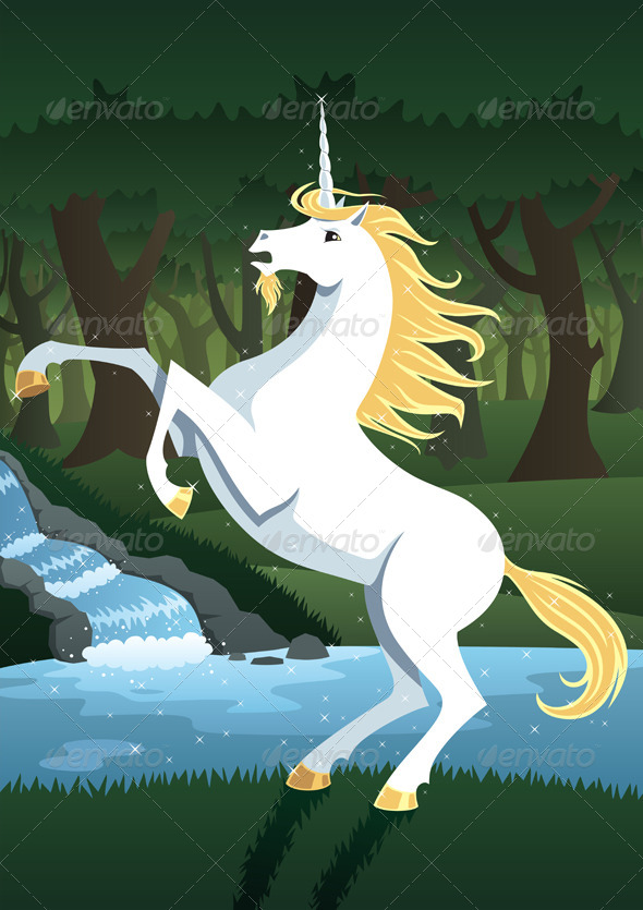 GraphicRiver Unicorn 7093939