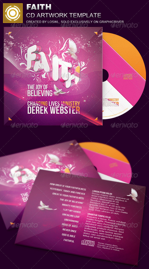 GraphicRiver Faith CD Artwork Template 7094303