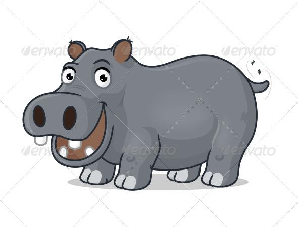 GraphicRiver Hippopotamus 7094461
