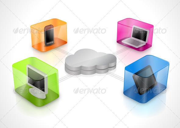GraphicRiver Cloud Computing 7094511