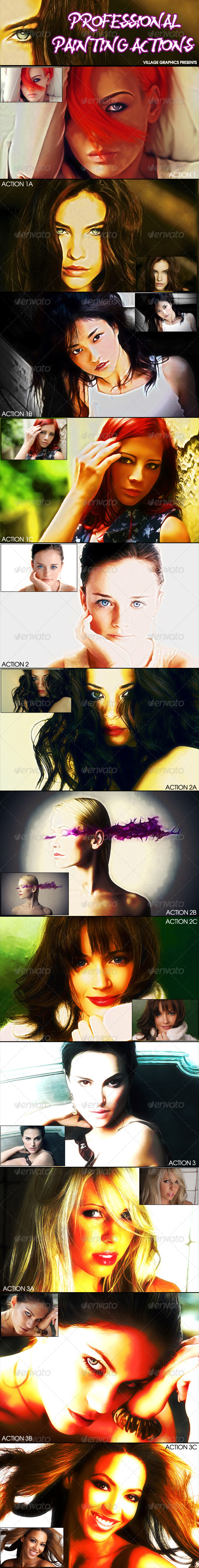 GraphicRiver Professional Painting Actions 7094644