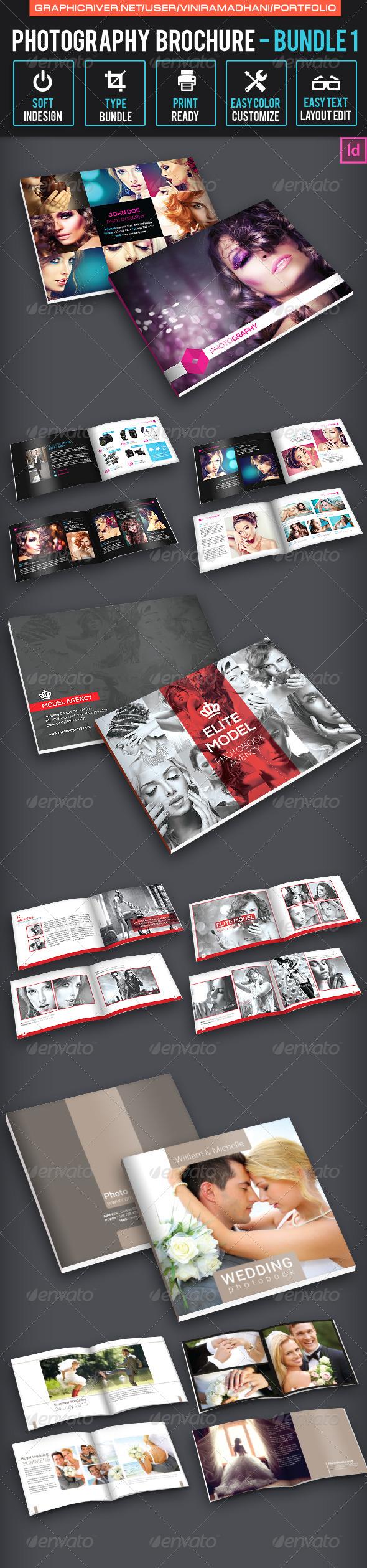 GraphicRiver Photography Brochure Bundle 1 7094933