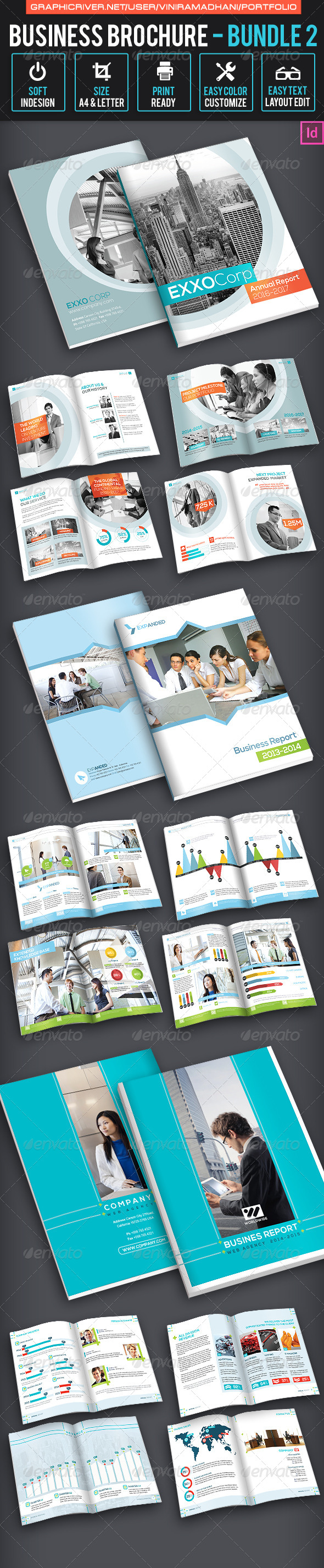 GraphicRiver Business Brochure Bundle 2 7094950