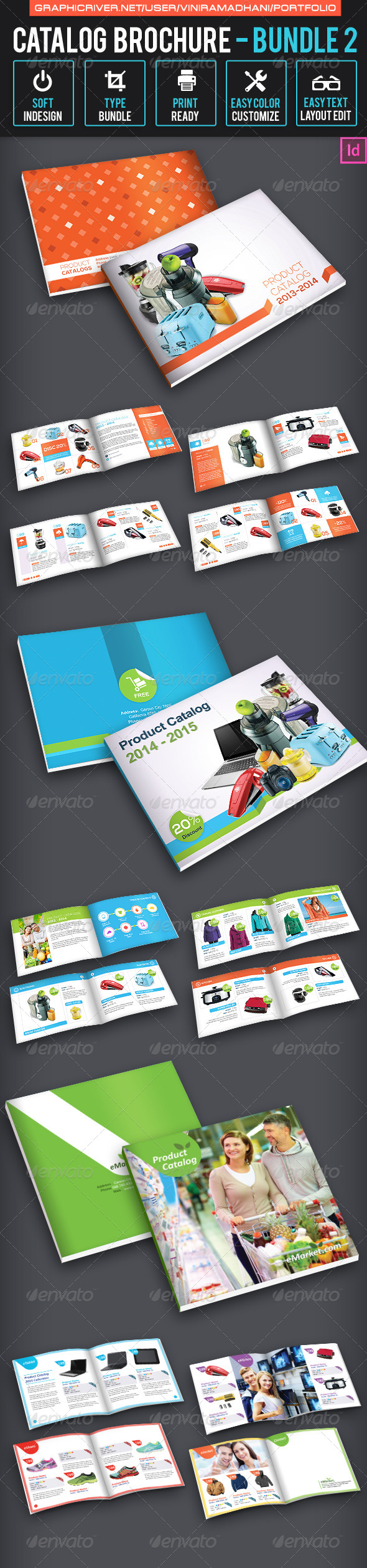 Catalog Brochure Bundle 2