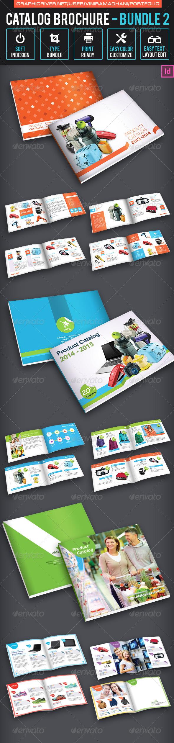 GraphicRiver Catalog Brochure Bundle 2 7094955