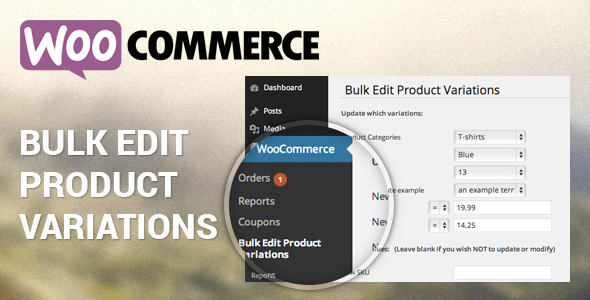 Woocommerce Bulk Edit Product Variations - CodeCanyon Item for Sale