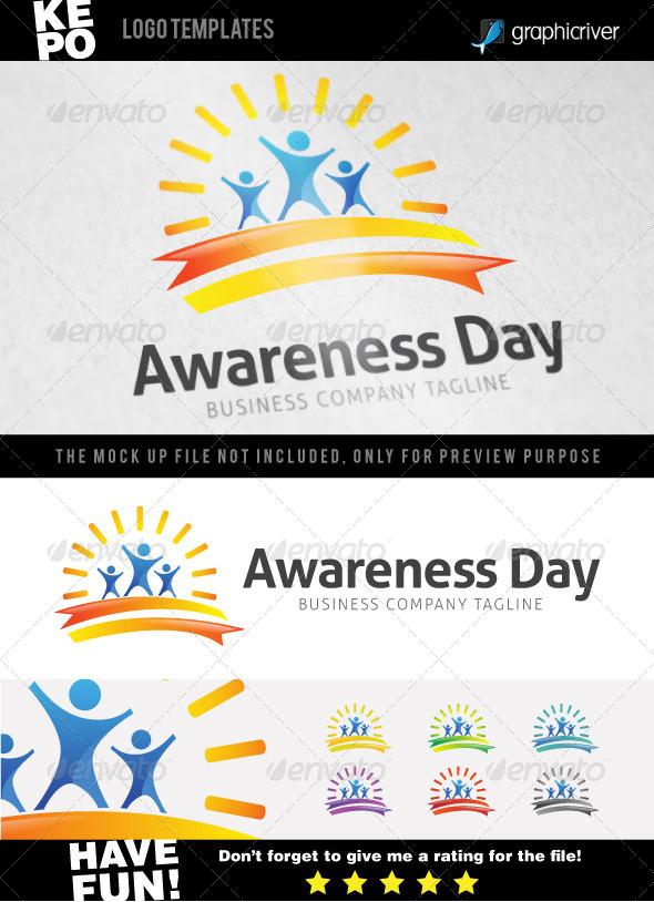 GraphicRiver Awareness Day Logo 7044484