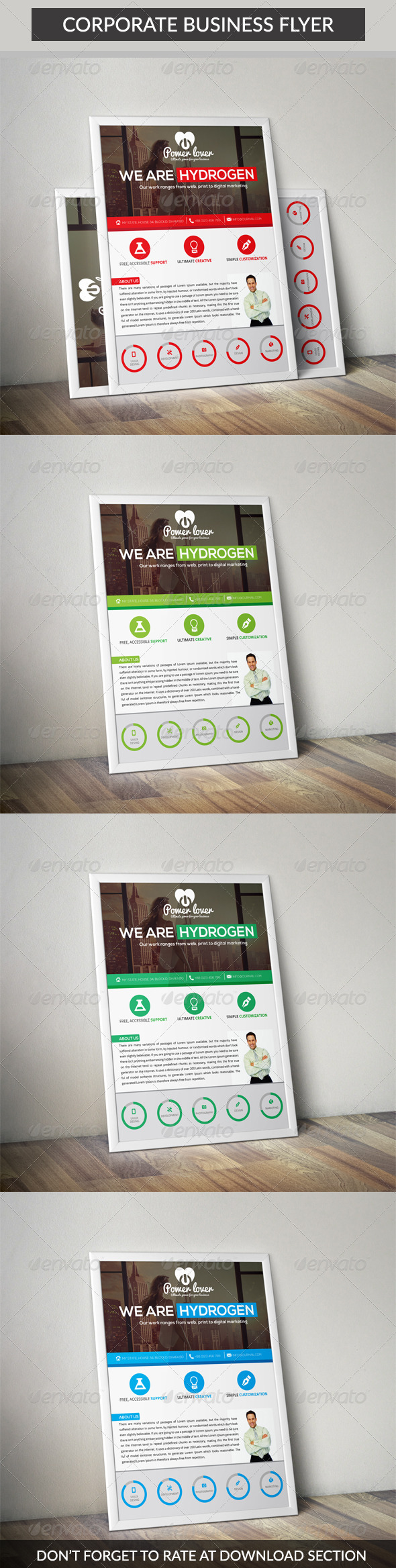 GraphicRiver Corporate Business Flyer 7095279